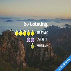 So Calming Promotes: Calm