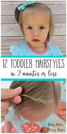Someday when Cora has hair! 12 Toddler Hair Styles – Toddler girl hairstyles ideas that are easy, cute and fast. Someday when Cora has hair! 12 Toddler Hair Styles – Toddler girl hairstyles ideas that are easy, cute and fast. Easy Toddler Hairstyles, Baby Girl Hairstyles, Toddler Girl Haircuts, Simple Hairstyles, Easy Little Girl Hairstyles, Hairstyles 2016, Toddler Braids, Wedding Hairstyles, Beautiful Hairstyles
