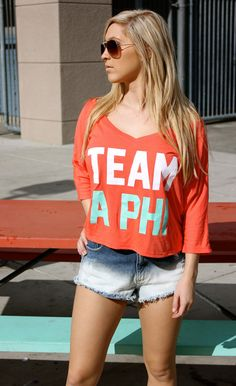 Team A Phi #AlphaPhi #APhi #sorority