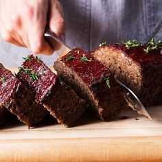 A mixture of mushrooms and grains come together for the ultimate vegetarian meat loaf.