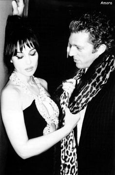 Monica Bellucci, Vincent Cassel by Ellen Von Unwerth