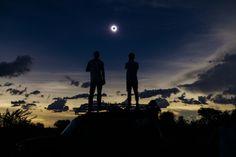 Solar eclipse over Gulu - Nov. 3rd