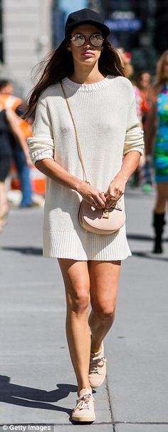 As Chrissy Teigen steps out in a sweater dress, shop our stylish picks #dailymail
