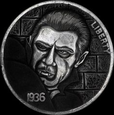 Paolo Curcio Carves 'Hobo Nickels' Based on Horror Movies #horror #horrormovies #horrorart #monsters #carving