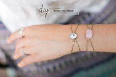 DIY JEWELRY :: Rhinestone bracelet