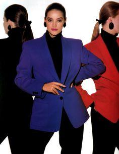 Saks Fifth Avenue, Elle magazine, August 1988.