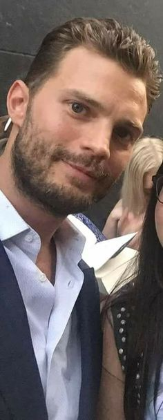 Well hello perfection Fifty Shades Darker, Fifty Shades Of Grey, Jamie Dornan, Cristian Grey, Dakota Johnson Movies, Mr Grey, Hollywood Actor, Actor Model