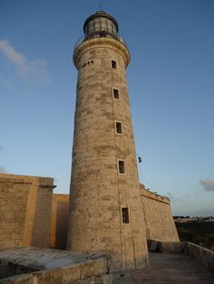 Faros que visité: CUBA - Faro del Morro