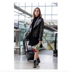 Rocker Glam - Emma Watson's Stunning Sustainable Fashion from the 'Beauty and the Beast' Promo Tour - Photos