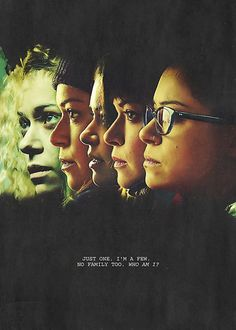 Orphan Black Poster - The Clone Club by mymeyer