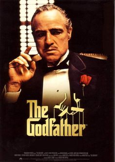 The Godfather - 1972 Der Pate The aging patriarch of an organized crime dynasty transfers control of his clandestine empire to his reluctant son. Starring: Marlon Brando, Al Pacino, James Caan Directed By: Francis Ford Coppola The Godfather Poster, Godfather Part 1, Godfather Movie, The Godfather Wallpaper, Best Classic Movies, Classic Movie Posters, Great Movies, Marlon Brando, Der Pate Poster