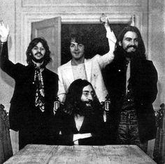 Последняя фотография Битлз как группы. 22 августа, 1969 год.