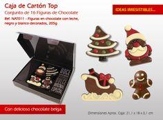 ¡Llegado este invierno y nada mejor que darle la bienvenida con un cálido chocolates belgas! Bonbon, Candy, Messages, Carton Box, Winter, Crates, Xmas