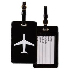Lolo Airplane Luggage Tag - TravelSmith