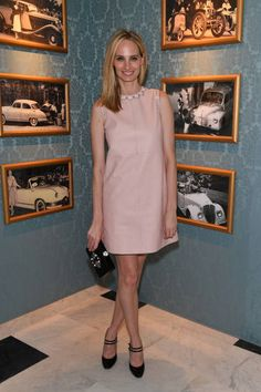 Lauren Santo Domingo attends Miu Miu Cruise Collection show as part of Haute Couture Paris Fashion Week on July 2 2017 in Paris France