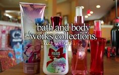 bath and body works! its-a-girl-thing