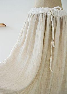 라르니에 정원 LARNIE Vintage&Zakka Cracked Heel Remedies, Chabby Chic, Linen Skirt, Skirt Pants, Chic Outfits, Ballet Skirt, Heels, Skirts, Clothes