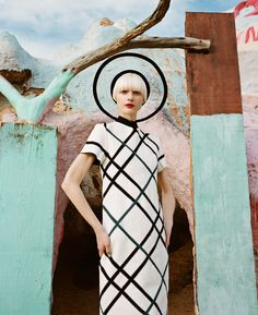 Fashion editorial by Julia Galdo and Cody Cloud at Salvation Mountain.