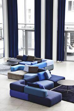 gentlemenbelike: superluxury: luxuryera: Alphabet Sofa | Source Luxury ✖ Limitless http://gentlemenbelike.tumblr.com