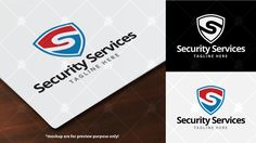Security Services Logo Template