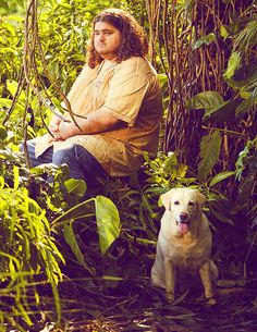 Lost: Hurley and Vincent