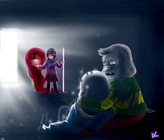 READ DESCRIPTION:  This drawing has spoiler alert if you have not seen episode 2 of the second season of Glitchtale by Camila cuevas Yep, the reason why the perspective of the pose of betty&n...