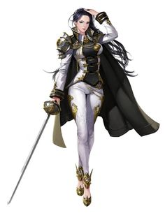 Fuehrer Di'ane Halifore -The leader of the Kallixian government and High General of the Kallixian millitary. Fantasy Girl, Chica Fantasy, Fantasy Women, Fantasy Character Design, Character Design Inspiration, Character Concept, Character Art, Fantasy Characters, Female Characters