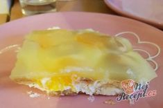 Příprava receptu Dokonalý studený dort s krémem ovocem a želé, krok 4 Pudding, Breakfast, Breakfast Cafe, Puddings