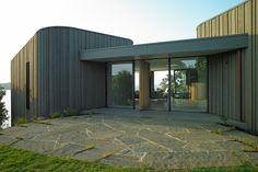 Headland House Onetangi Beach Stevens Lawson Architects » Archipro
