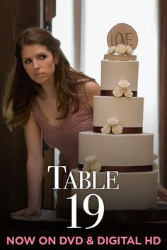 When you're avoiding an ex at a wedding. See Anna Kendrick in the hilarious wedding comedy Table 19 on DVD today.