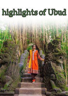 Highlights Of Ubud - Justyna Manjari Flights To Bali, Monkey Forest, Vegan Junk Food, Food Experiments, First Iphone, Relaxing Holidays, Small Waterfall, Rock Bottom, Bali Travel