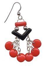 Vintage glass earrings Glass Earrings, Drop Earrings, Vintage, Jewelry, Jewlery, Jewerly, Schmuck, Drop Earring, Jewels