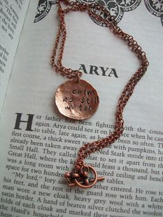 """Give your bridesmaids quotable necklaces.   How To Throw A Gorgeous And Geeky """"Game Of Thrones"""" Wedding"""