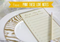 free printable love notes #valentinesday #valentinesday