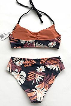 3eeb643a07 CUPSHE Women's Meet You Reversible Bikini Set Beach Swimwear,#Meet,  #Reversible,