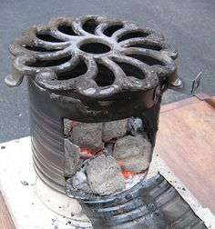 Building a DIY Rocket Stove -  Backdoor Survival