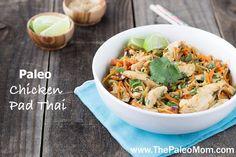 » Paleo Chicken Pad Thai