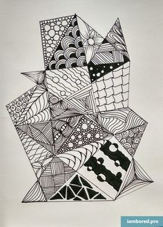 zentangle easy doodle patterns drawing zen doodles zentangles pen abstract drawings draw pattern sad coloring pages projects tangle a3 beginners