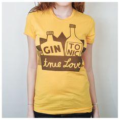 gin and tonic, yes @Merissa Askren!