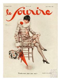 "Beautiful art print Vintage French Magazine Paris Image ""La Vie Parisienne"" Wall Decor Unframed Print is Unframed x Ready for framing . Professionally printed on medium weight cardstock French Art, French Vintage, Vintage Art, Vintage Paintings, Vintage Glam, Retro Art, Vintage Vogue, Antique Art, Vintage Photos"