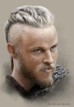 Ragnar Lothbrok – Vikings – Travis Fimmel | Julie Mirishka Nicholls