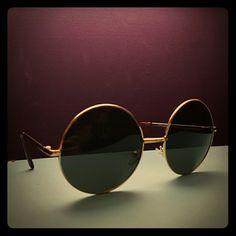 Vintage 1970's Round Sunglasses Very cute, perfect condition, John Lennon style, 60's/70's vintage sunglasses Accessories Sunglasses