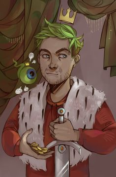 """therealjacksepticeye: """"kilgaaarra: """" JACK THE KING """" SO MUCH MUNS!!! This is great though, thank you!! """""""