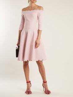 c44d7da4b6d554 ALEXANDER MCQUEEN Off-the-shoulder matelassé dress Matches Fashion, Off The  Shoulder,
