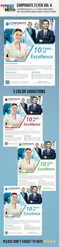 Minimal Corporate Flyer Vol 4