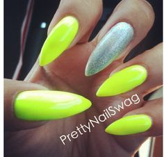 Neon yellow kinda scary though