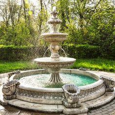 Pon una fuente en tu jardín. Beneficios de su instalación.