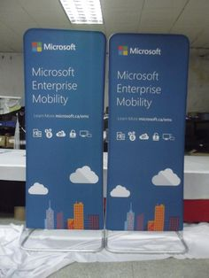 Our Tension Fabric Elegance Wave Displays are available in a multitude of shapes and sizes. Lightweight and portable and come with a padded carry case. Elegance Displays give a higher end look to your tradeshow, event or retail environment compared to a typical banner stand and are very slick 😎 #ohmyprint #business #mediaprinting #tradeshow #microsoft #display #events #eventcordinator #vancouver #canada #northamerica #promotions #eventprofs #computer Banner Stands, Trade Show, Vancouver, Microsoft, North America, Wave, Environment, Canada, Retail