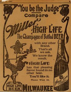 ad7e590b2f9ce The Surprisingly Legit Reasons Miller High Life Is Called the Champagne of  Beers