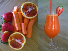 Skvělý je i zázvor. Teas, Juices, Grapefruit, Smoothies, Bowls, Vegetables, Drinks, Food, Per Diem